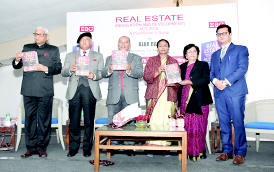 Ajar Rab's book on Real Estate Act released | Garhwal Post
